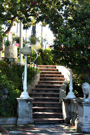 HearstCastleStairsw