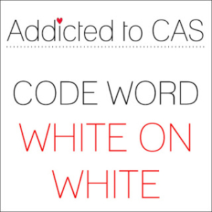 ATCAS - code word white on white