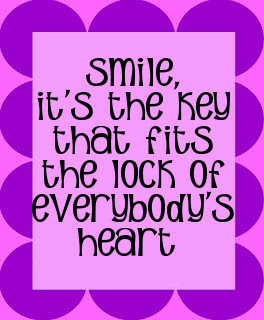 Timeout smile quote