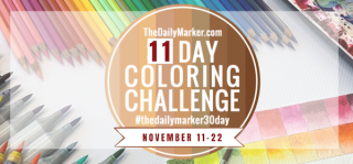 11 Day coloring challenge